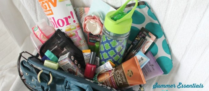 Hit Me With Your Best Shot {Summer Essentials Giveaway!}