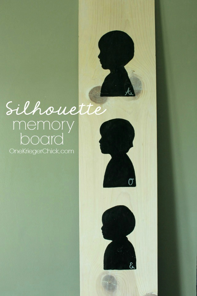 How-to-make-silhouette-memory-board