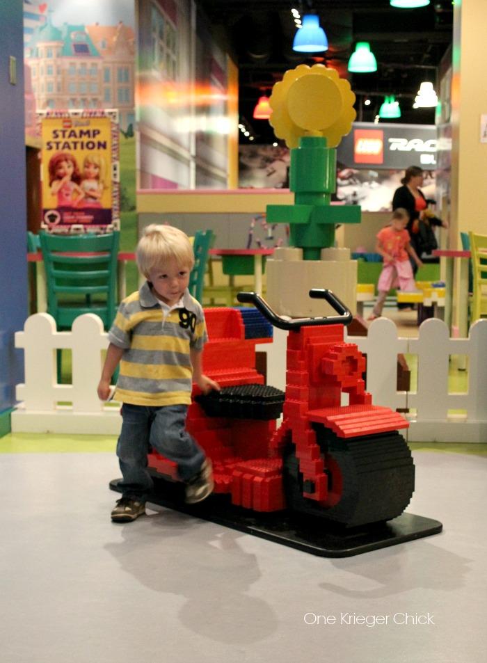 Fun at Legoland Kansas City