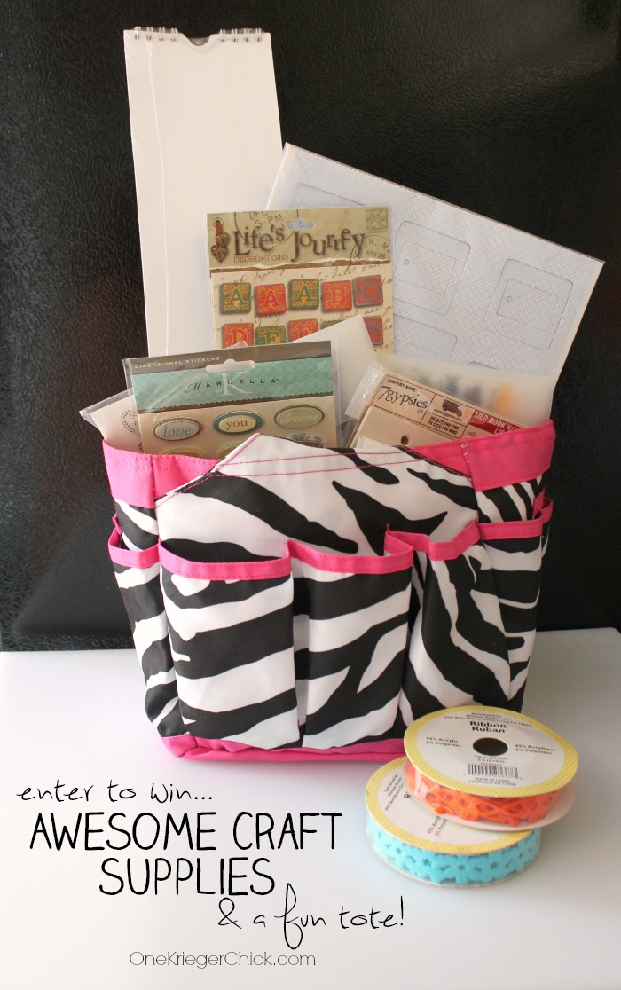 The B.I.G. Craft Giveaway- Enter to win Awesome craft supplies from over 30 of your favorite bloggers!