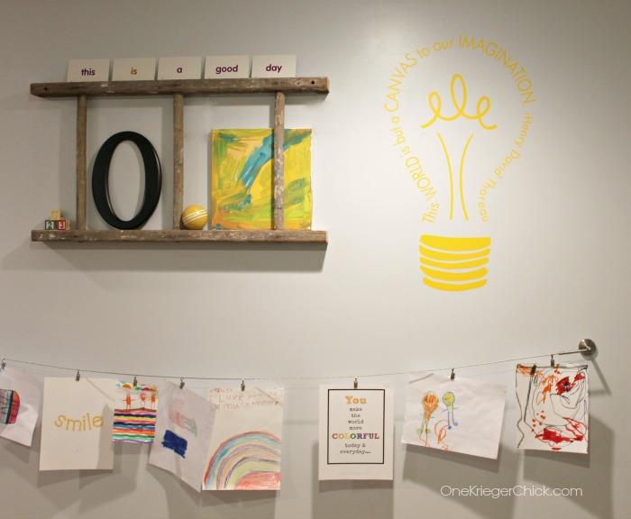 Classroom Gallery Wall-OneKriegerChick.com
