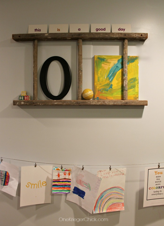 Fun Classroom Gallery Wall-OneKriegerChick.com