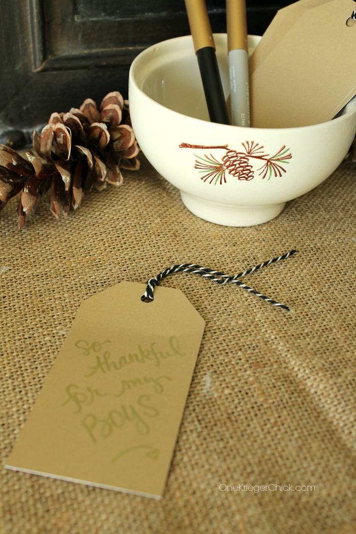 Thankful Tree- Tags- OneKriegerChick.com