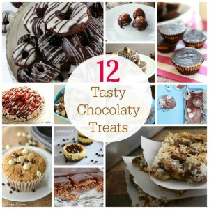 12 tasty chocolaty treats Collage