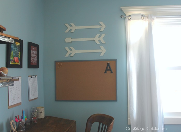 Make your own wooden arrows from paint sticks- simple and so inexpensive to create- OneKriegerChick.com