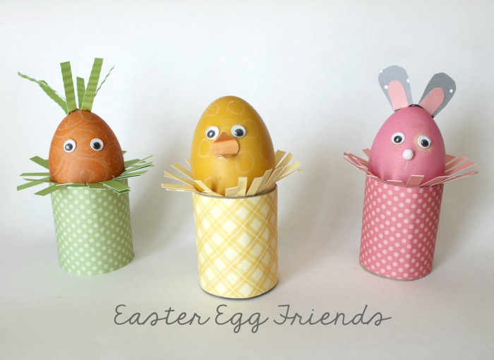 Darling Easter Egg Friends from OneKriegerChick.com