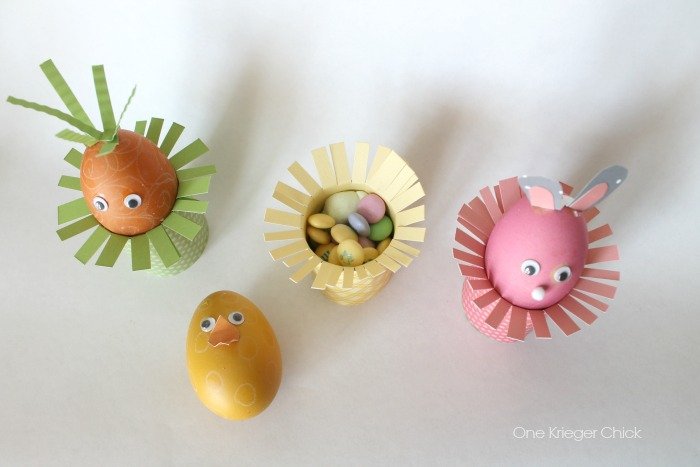 Easter treat cups- One Krieger Chick.com