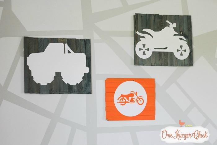 Mini Pallet Art 2-OneKriegerChick.com