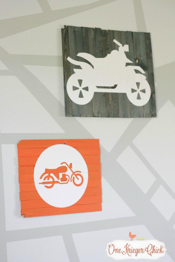 Mini Pallet Art 3-OneKriegerChick.com