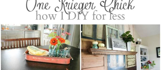How I DIY for Less…