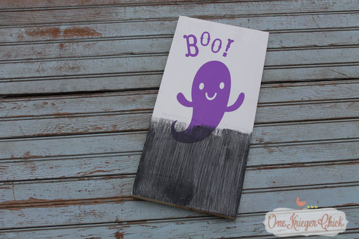 Pottery Barn Inspired Halloween sign- made in 15 minutes!19- OneKriegerChick