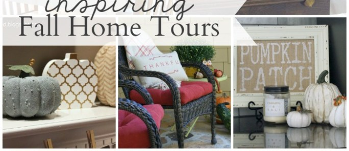 Hit Me With Your Best Shot #88 & Inspiring Fall Home Tours
