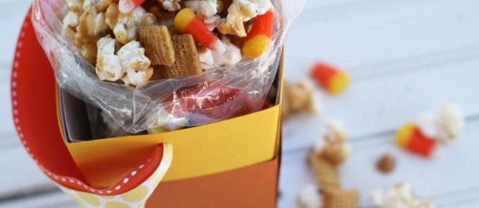Caramel Popcorn Party Mix & Popcorn Box Blog Party!