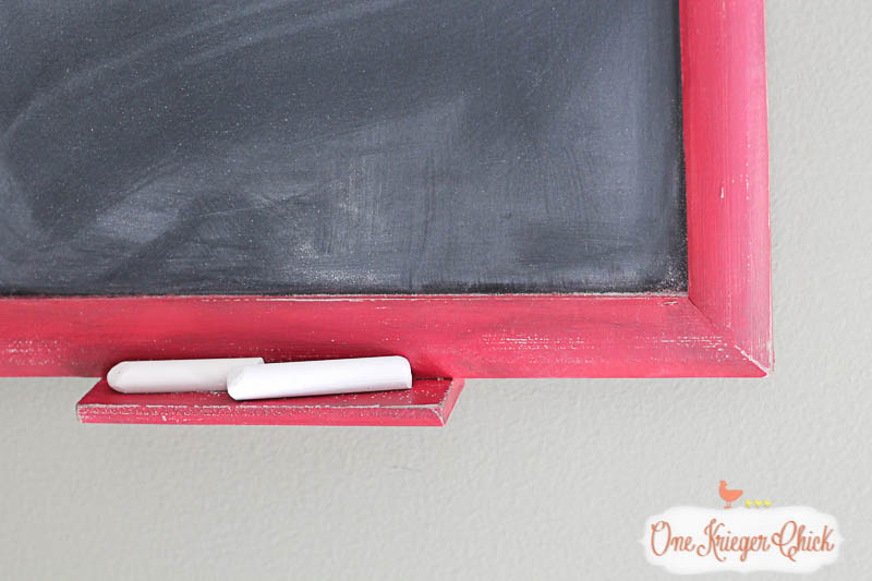 Festive Holiday Chalkboard- so many possibilities for the holidays!