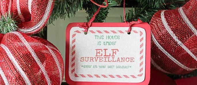 ELF Surveillance Sign Printable