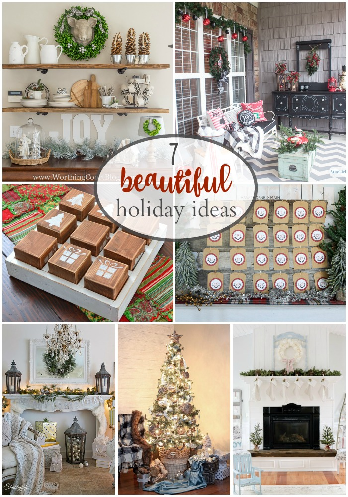 7 beautiful and creative holiday ideas we can all add to our home decor!