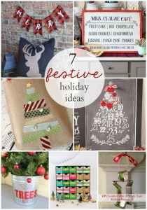 7 festive holiday ideas to create this season! OneKriegerChick.com