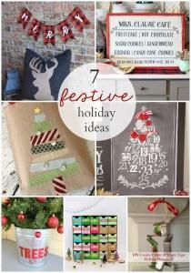 7 festive holiday ideas to create this season! OneKriegerChick.com