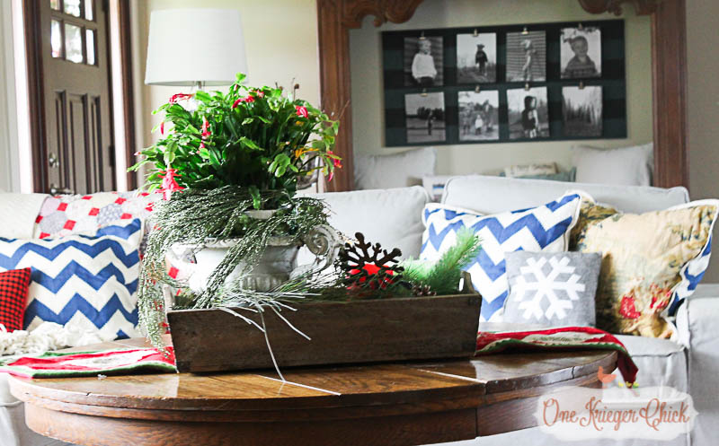 A Very Merry Living Room 2015-3-OneKriegerChick Home Tour
