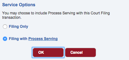 Process serve with One Legal