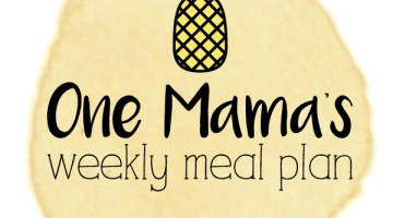Menu plan: May 23-29