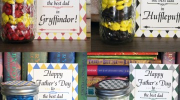 Hogwarts Father's Day printable gift