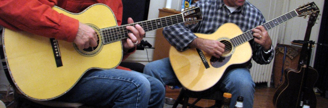 Martin OM-42 Deep Body review w Pat Donohue modelat One Man's Guitar onemanz.com
