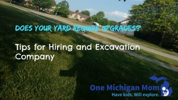 yard excavation ideas
