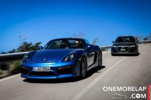 #RoadToElba2: Audi RS3 & Porsche Boxster Spyder