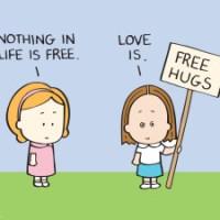 Free Hugs in LONDON :D