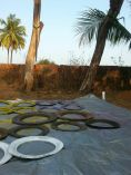 tire climbing wall, how to, DIY, climbing structure, play ground ideas