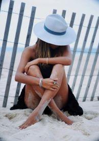 pretty girl on beach