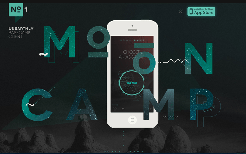 Mooncamp One Pager Design