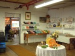 Part of the retail store at the Homer Laughlin China Company in Newell, W.Va.