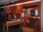 Interior of Inland Seas Museum at Vermilion