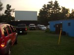 Waiting for movie to start at Lynn Drive In Theater