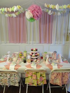Vintage Cupcake Birthday Party