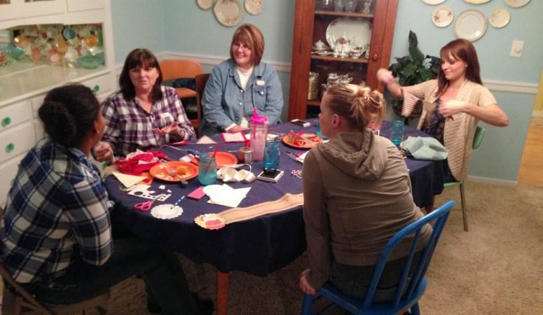 November Craft Club & A Handmade Holiday workshop
