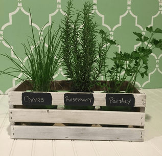 June Craft Club { DIY Crates }
