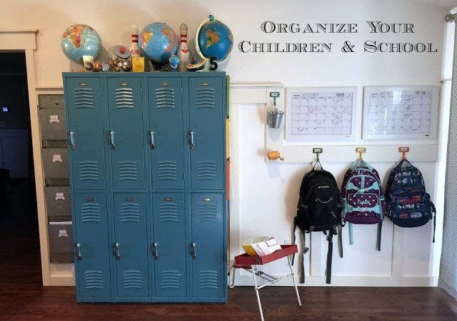 Organize Multiple Children and School Efficiently