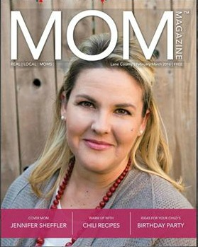 Jennifer Sheffler, Cover MOM 2016