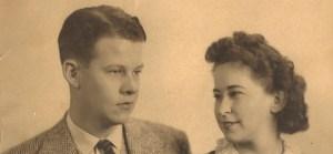 Nanny and Papa circa 1940
