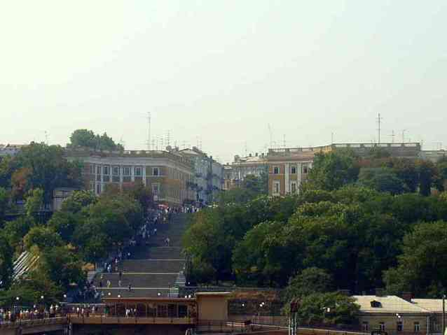 Steps in Odessa, Ukraine