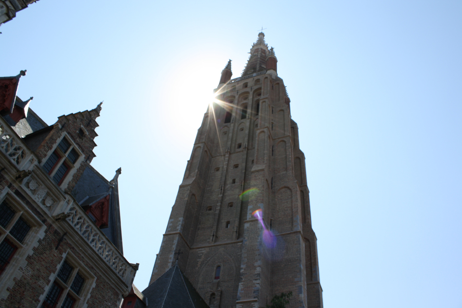 Tower of Church of our Lady, Bruges