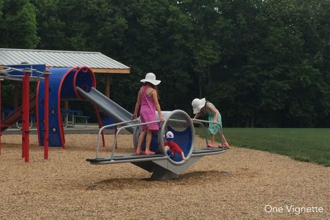 7.18.16. Halfway Through. kids playground