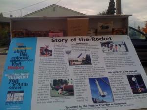 CD #14: Fremont Rocket Sign