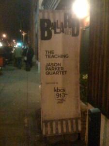 Ballard Jazz Walk Banner