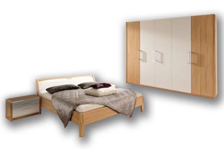 nolte schlafzimmer la vida kernbuche lack weiß   möbel