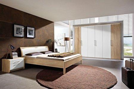 nolte la vida schlafzimmer eiche sägerau   möbel letz