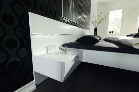 schlafzimmer starlight von nolte delbrück in weiß mit 5